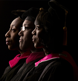 First graduates to receive a PhD in Integrated Biosciences from NCCU