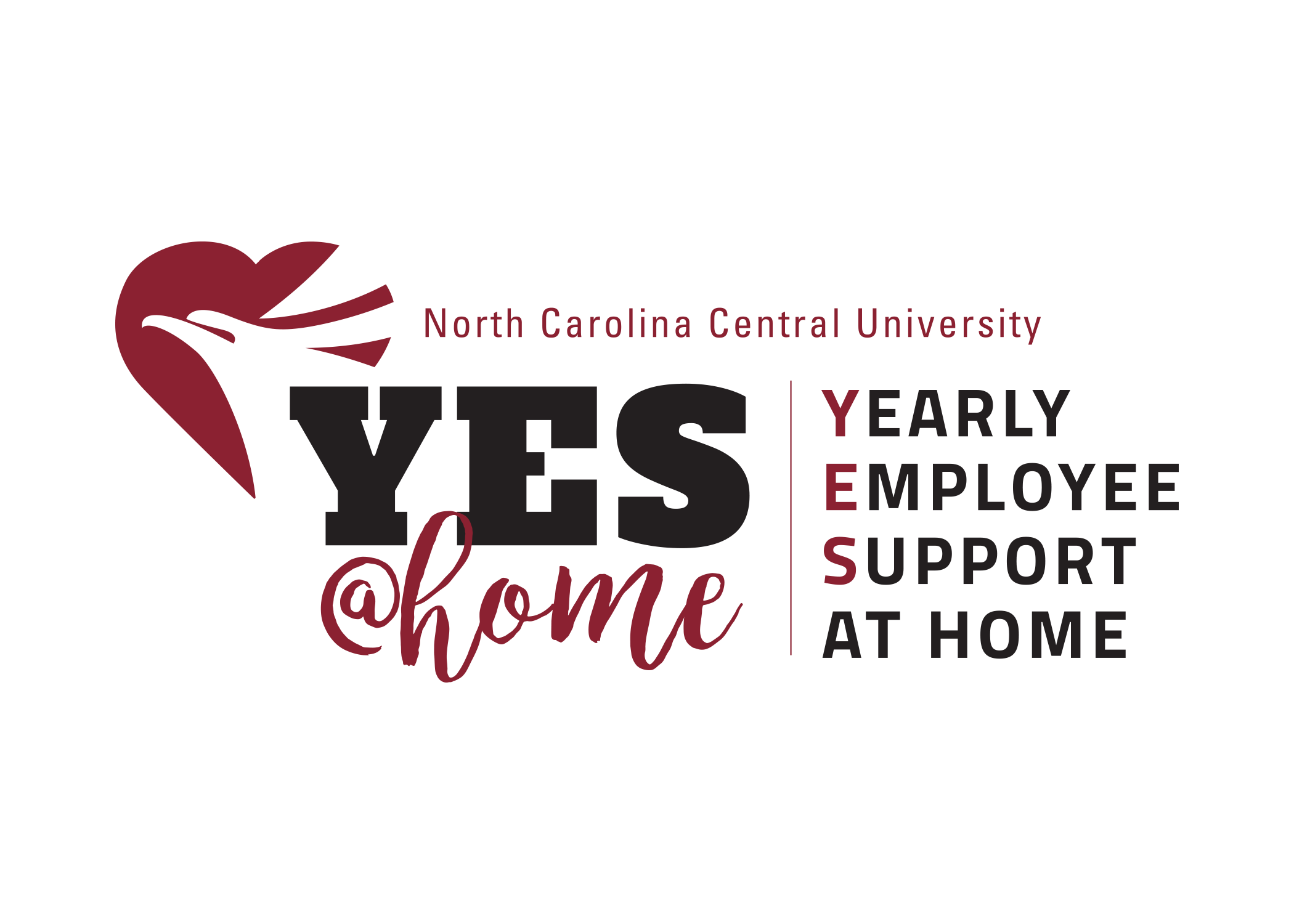 Yes Campaign Logo showing Yearly Employee Support at home
