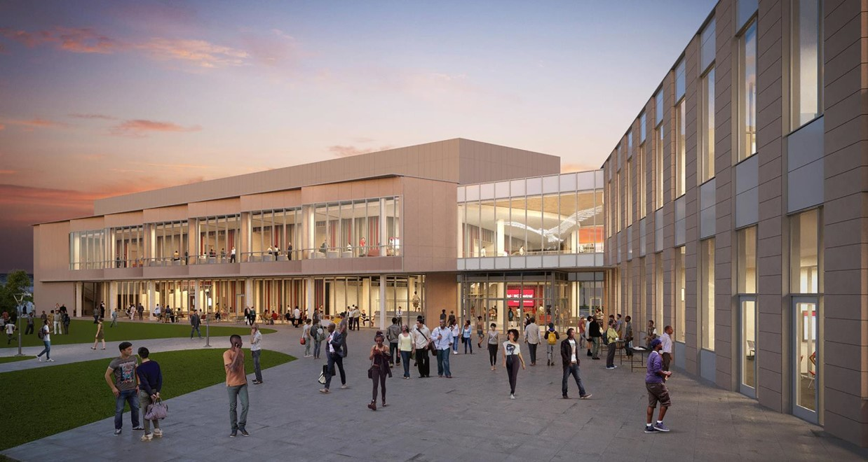 New Student Center (Rendering)