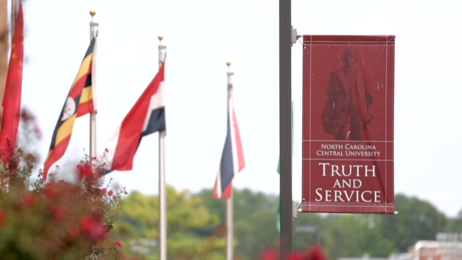 In Truth and Service Banner