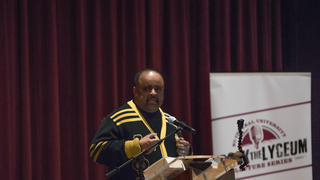 Journalist Roland Martin at Rock The Lyceum Lecture Series