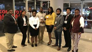 NCCU students at State Research Symposium