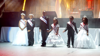 Little Royals and Junior Royals Court 2018
