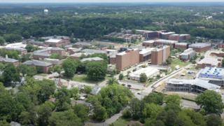 Aerial View of NCCU
